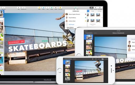 Keynote Mac en iOS