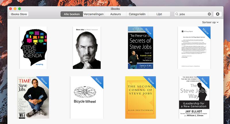 iBooks cover wijzigen