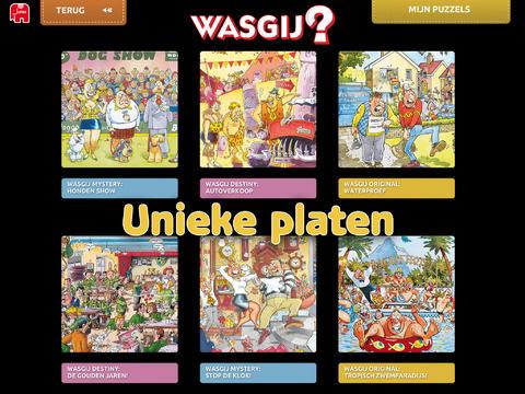 Wasgij Puzzle app maak puzzels