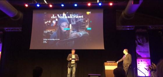 Volkskrant Select iPad presentatie