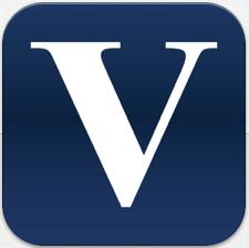 De Volkskrant logo oude iPhone-app