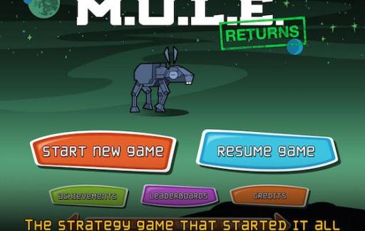 MULE Returns: oeroud strategiespel krijgt remake voor iOS Mule Returns