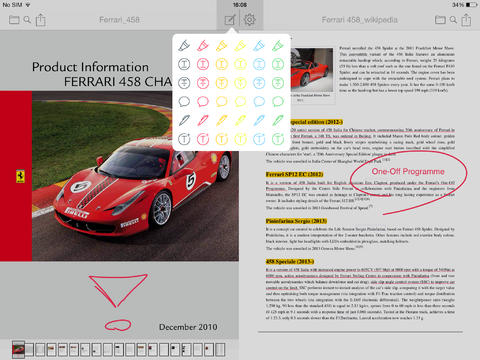 Easy Annotate iPad header