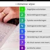 Alzheimer Assistent voor iPad helpt mantelzorgers