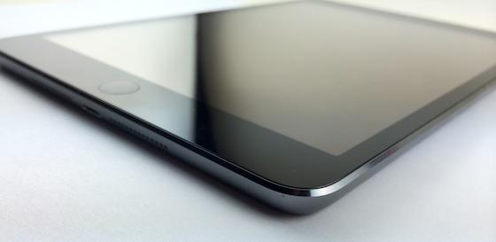 iPad mini Retina schuin onder