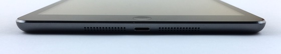 iPad mini Retina onderkant