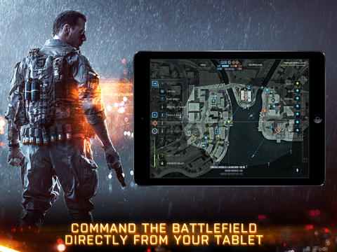 Battlefield Tablet Commander iPad