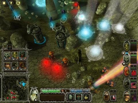 Runic Sorcerer drukte in beeld RPG