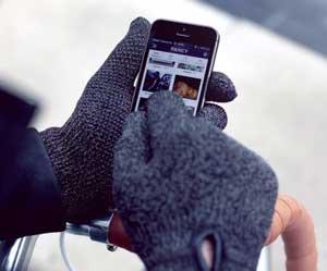 mujjo dubbelzijdige touchscreen handschoenen