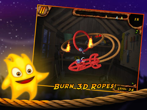 ICS Burn the Rope 3D iPad iPhone