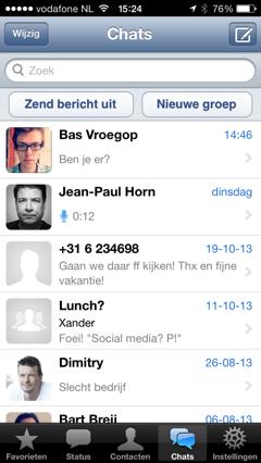 whatsapp chats oud