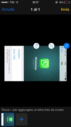 whatsapp roteren nieuw