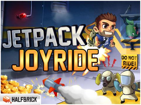 Jetpack Joyride grootste update ooit