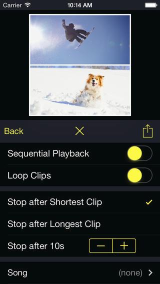 Diptic iPhone instellingen iOS
