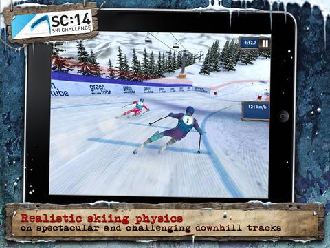 ICS Ski Challenge 14 screenshot