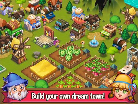 ICS Adventure Town iPad iPhone