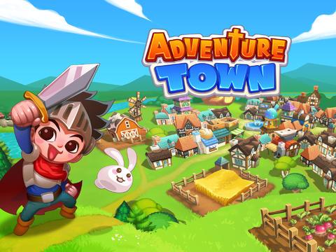 ICS Adventure Town iPad header