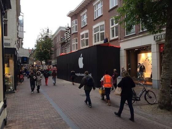 Apple Store Haarlem Twitter 5