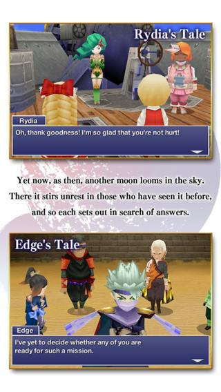Final Fantasy IV After Years verhalen iOS