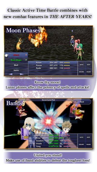 Final Fantasy IV After Years gevechten
