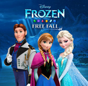Frozen-Free-Fall-ipad