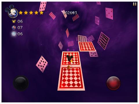 ICS Castle of Illusion kaartendans iOS