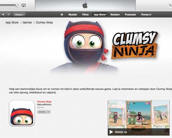 clumsy-ninja-video-itunes