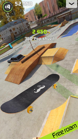 ICS Touchgrind Skate iOS