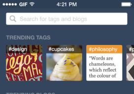 Tumblr zoeken op hippe blogs