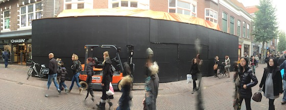 Apple Store Haarlem panorama