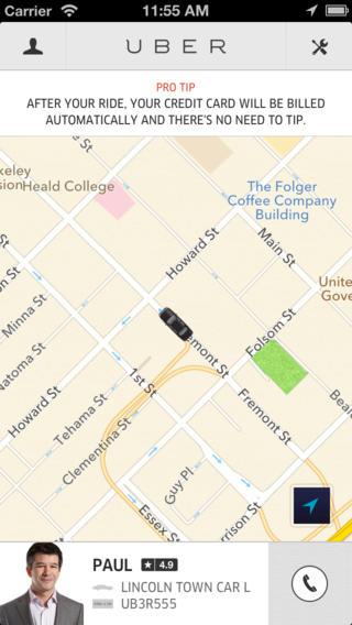 taxi app uber laat nu betalen met paypal. Black Bedroom Furniture Sets. Home Design Ideas