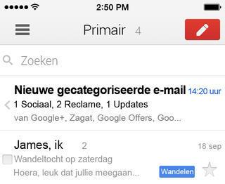 Gmail iOS 7 1