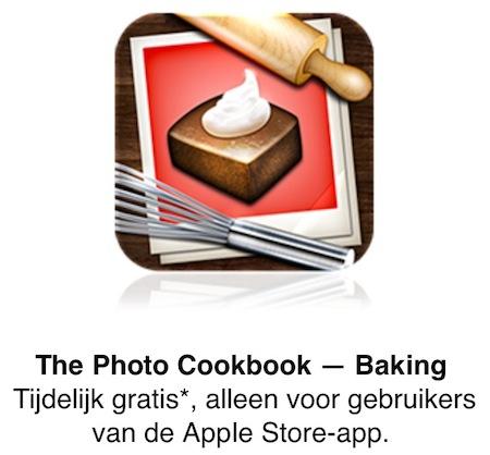 Het Fotokookboek - Bakken - Apple Store