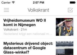 Digg nieuwsapp doet ook video iOS 7