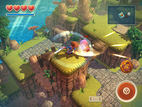 Oceanhorn iPhone iPad iOS header