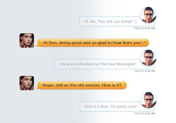 Messages concept 3