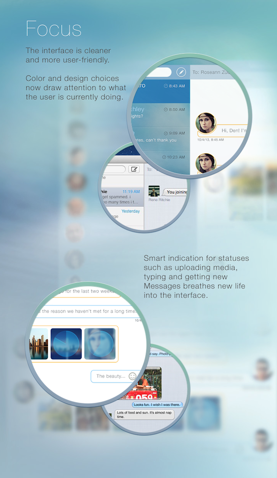 Messages concept 5