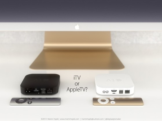 Apple TV zwart wit