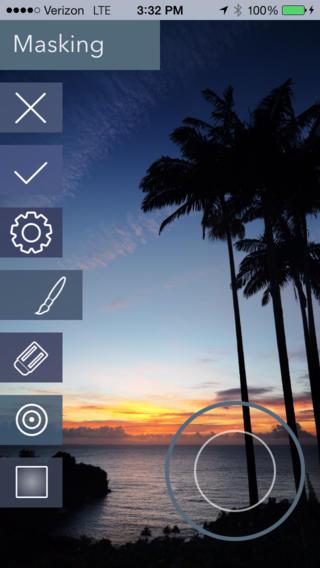 Filterstorm 4 Neue masking iPhone