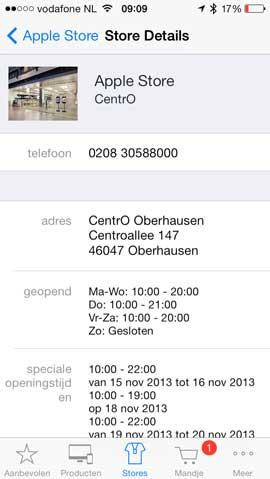 apple-store-openingstijden-oberhausen
