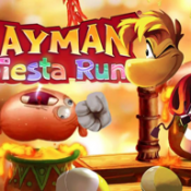 Rayman Fiesta Run iPhone iPad header