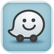 Waze navigatie-app iPhone
