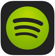 Spotify iPhone app-icoon iPad iOS