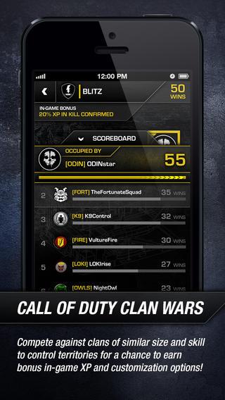 COD Ghosts ranglijst clan
