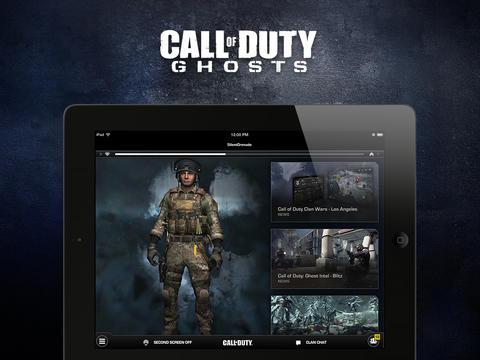 Call of Duty Ghosts iPad iPhone app