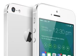 iOS 8 concept van designer