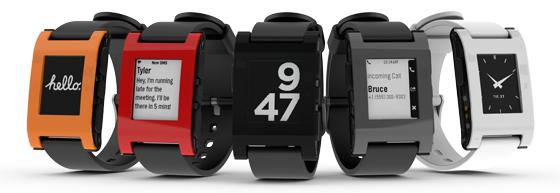 pebble smartwatch line-up
