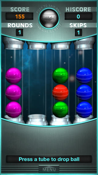 ICS Tubular Balls Nederlands spel iPhone