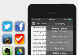 Write for iPhone iOS