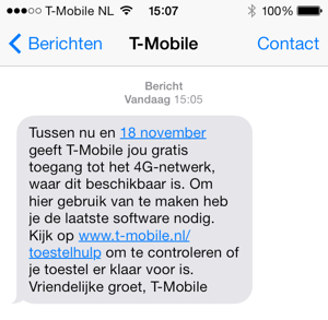sms 4g t-mobile